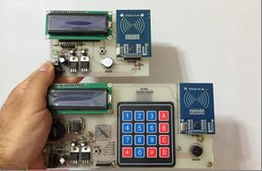 طراحی دستگاه کارتخوان RFID برای شهربازی